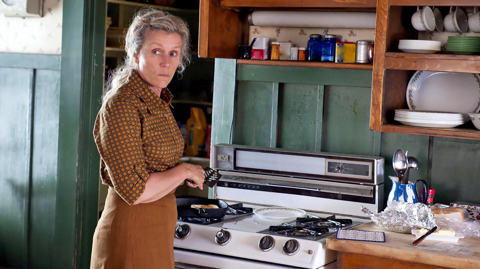 "Frances McDormand in ""Olive Kitteridge"""