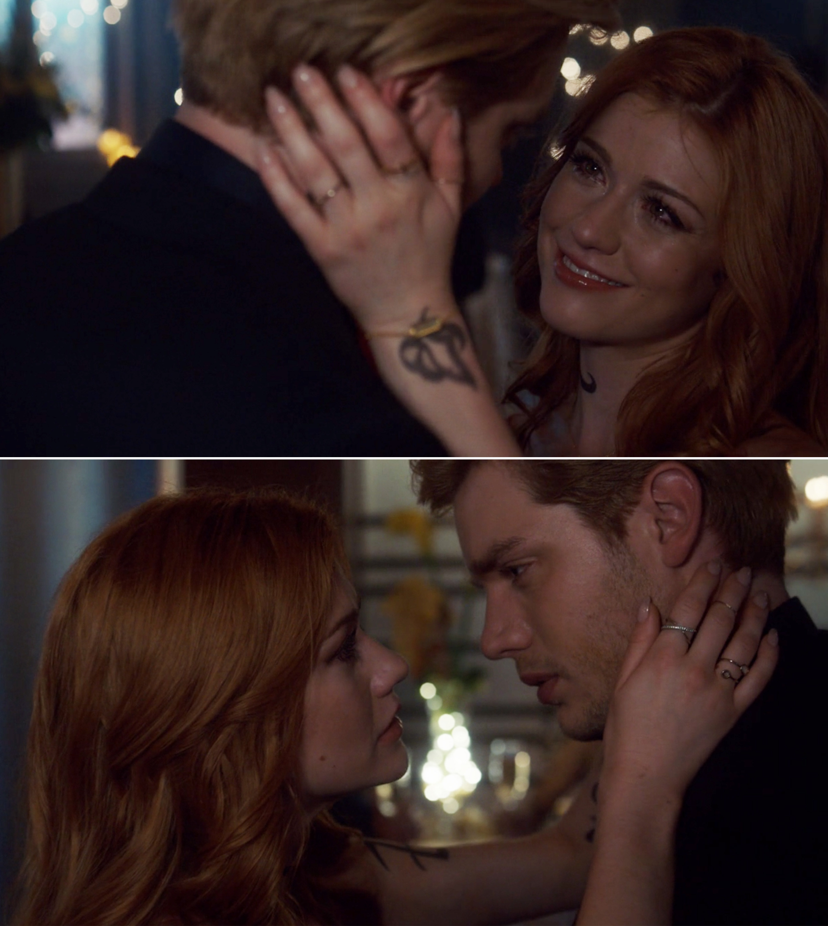 Clary and Jace dancing