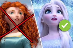 You're not Merida but you are Elsa