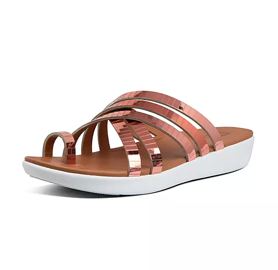 The sandal in rose gold