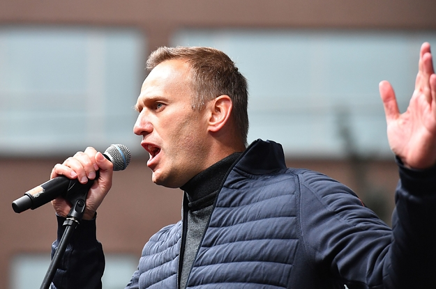 Russian Opposition Leader Alexei Navalny Is In A Coma After Apparently Being Poisoned