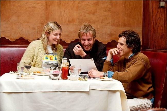 """Greta Gerwig, Rhys Ifans, and Ben Stiller in """"Greenberg"""""""