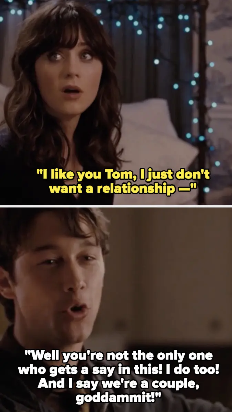 Argument scene from 500 Days of Summer