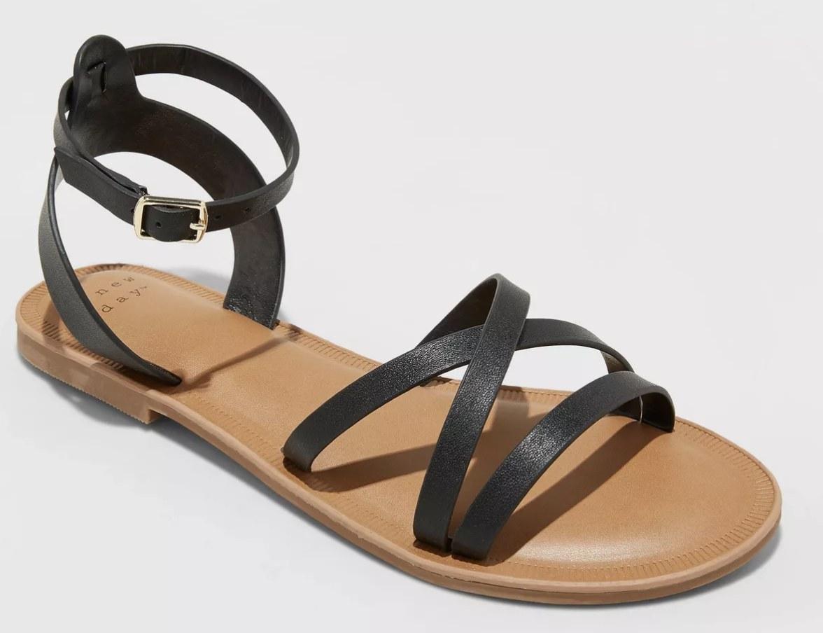 Sandal in black