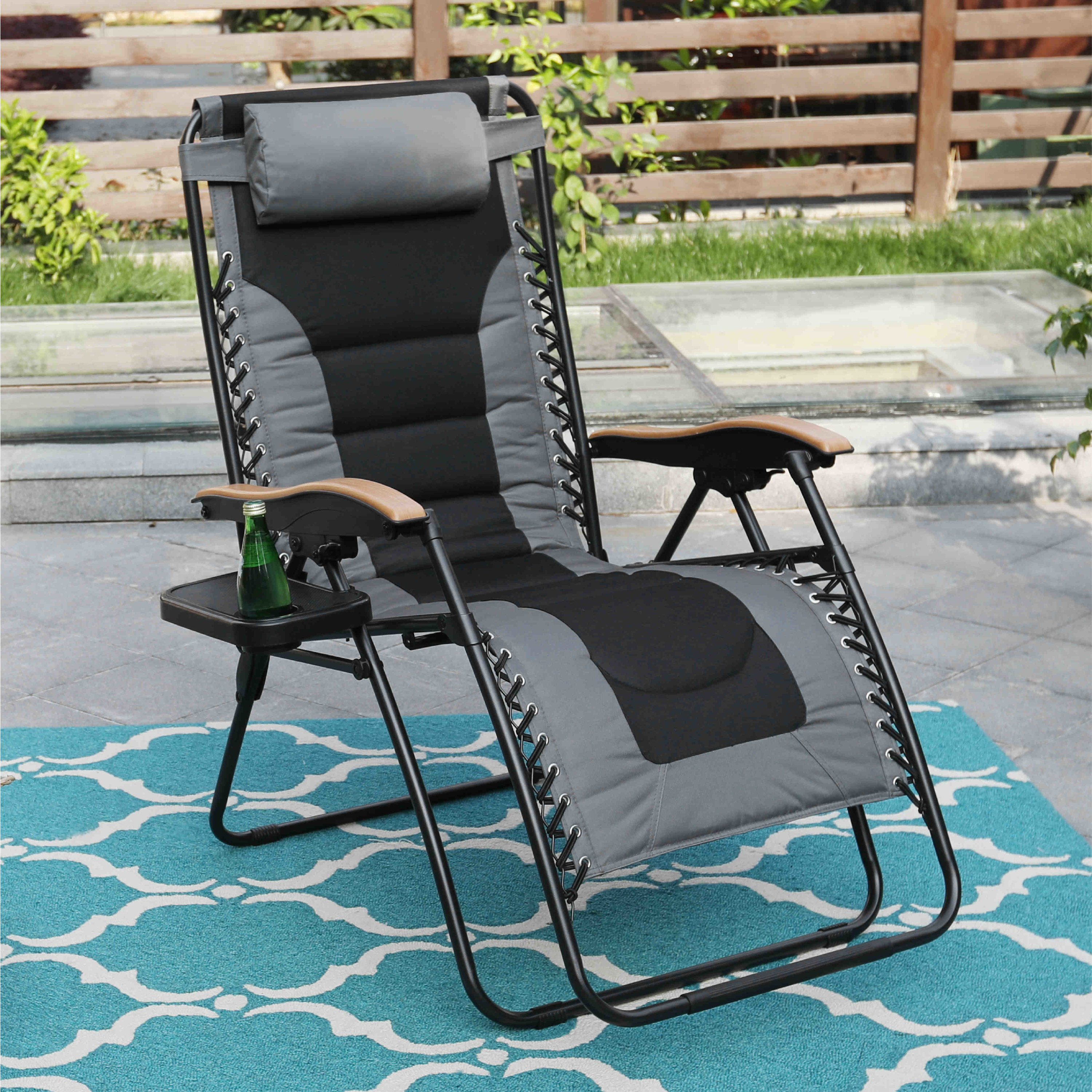 gray zero gravity lounge chair
