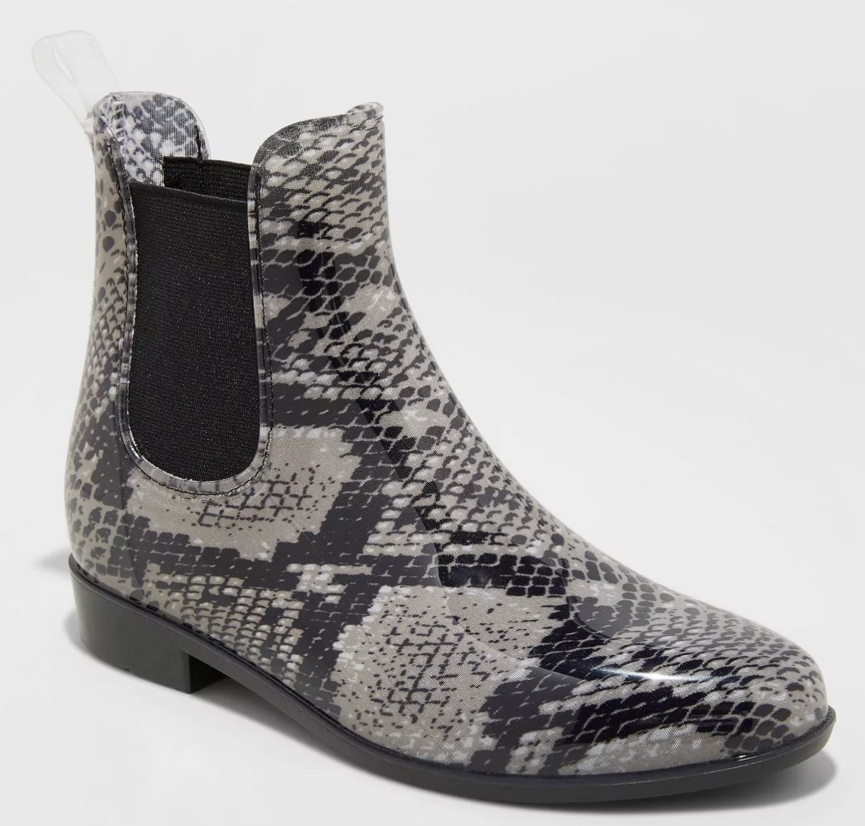 The shoe in gray