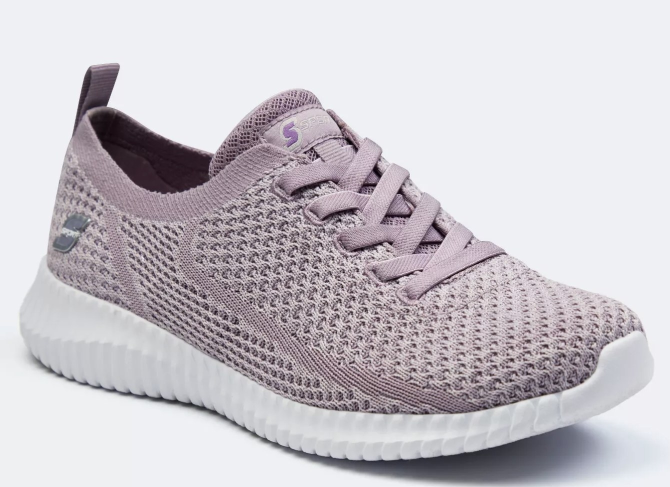 The shoe in lavender
