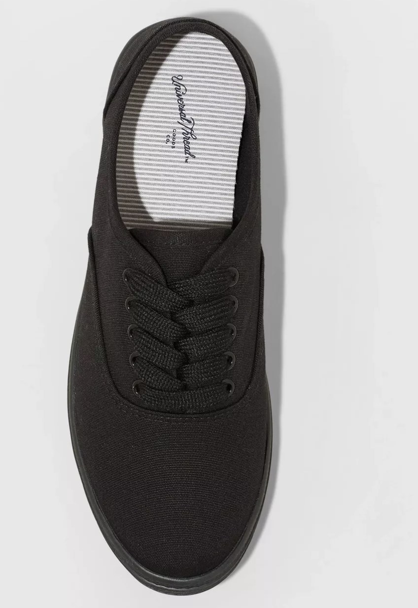 The shoe in black