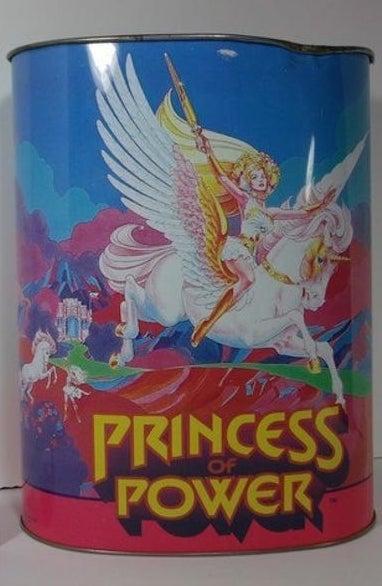 Metal She-Ra Princess of Power trashcan.