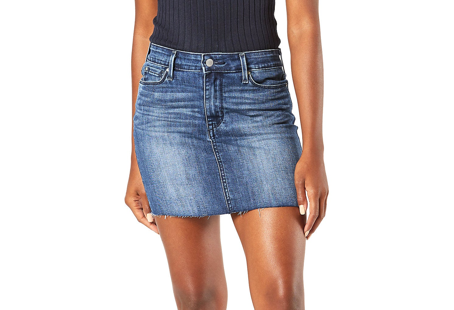 levi's women's denim skirt