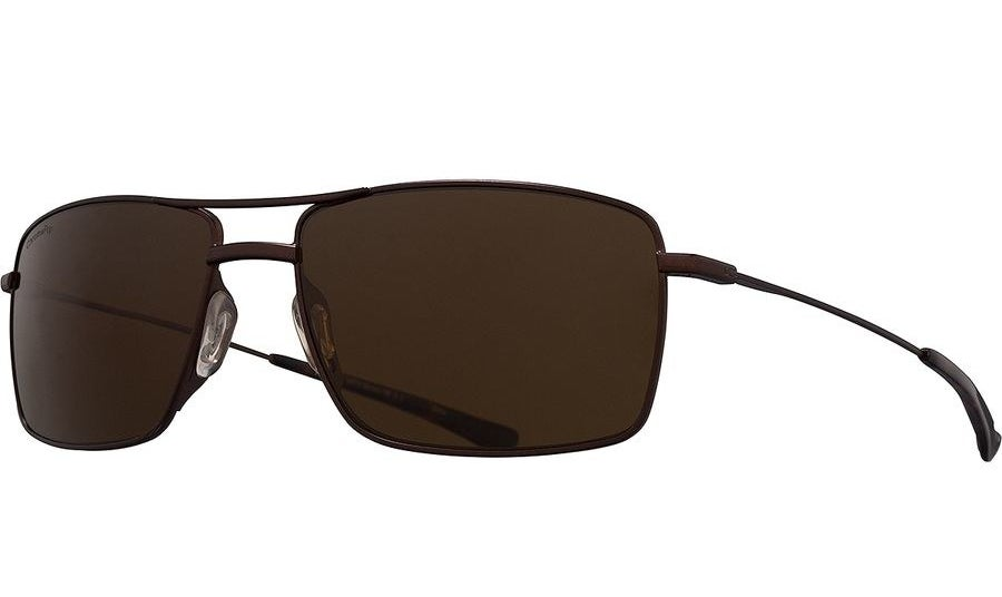 The sunglasses in brown