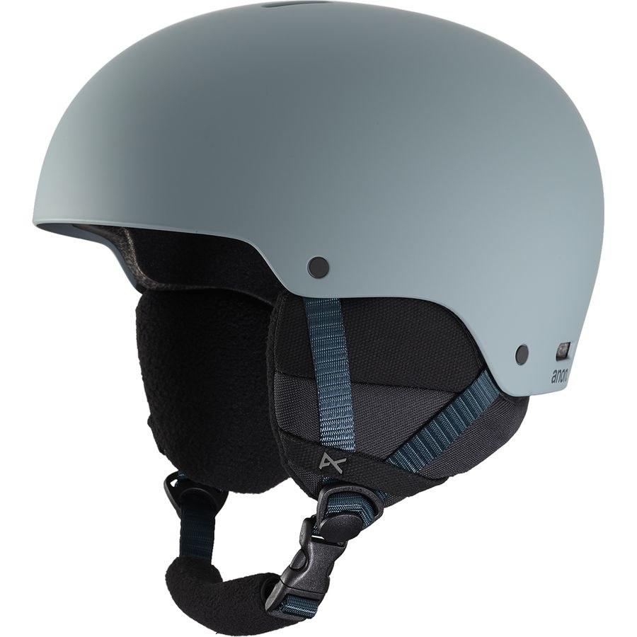 The helmet in gray