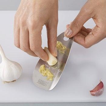 model grating garlic