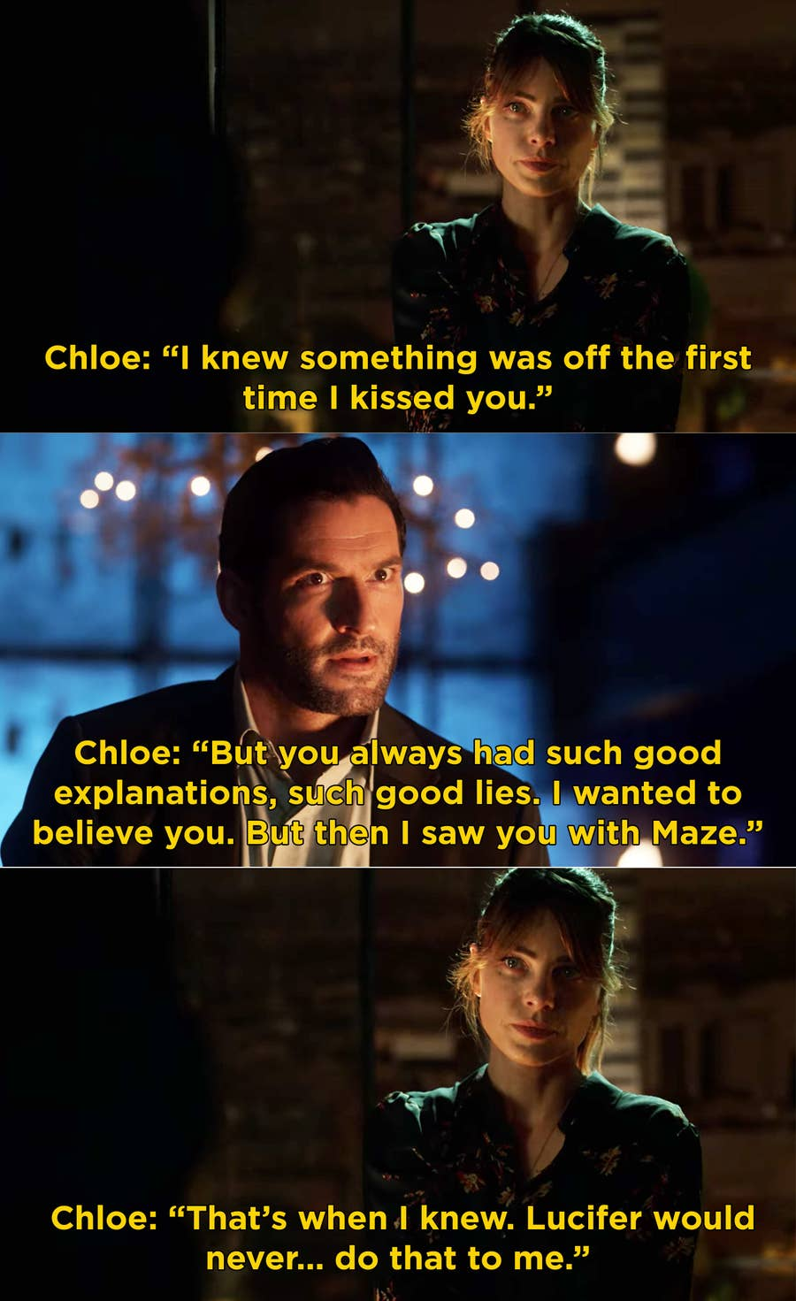 Lucifer Reactions To Chloe And Lucifer In Season 5
