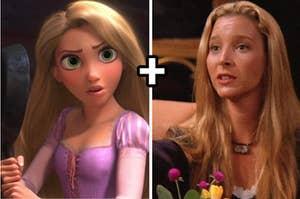 Rapunzel plus phoebe