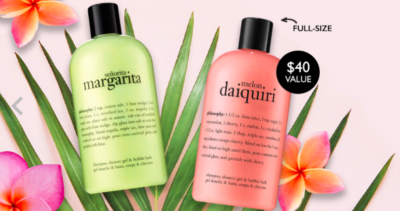 margarita and daiquiri body wash