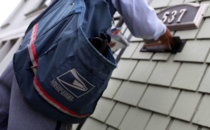 Mail carrier with bag