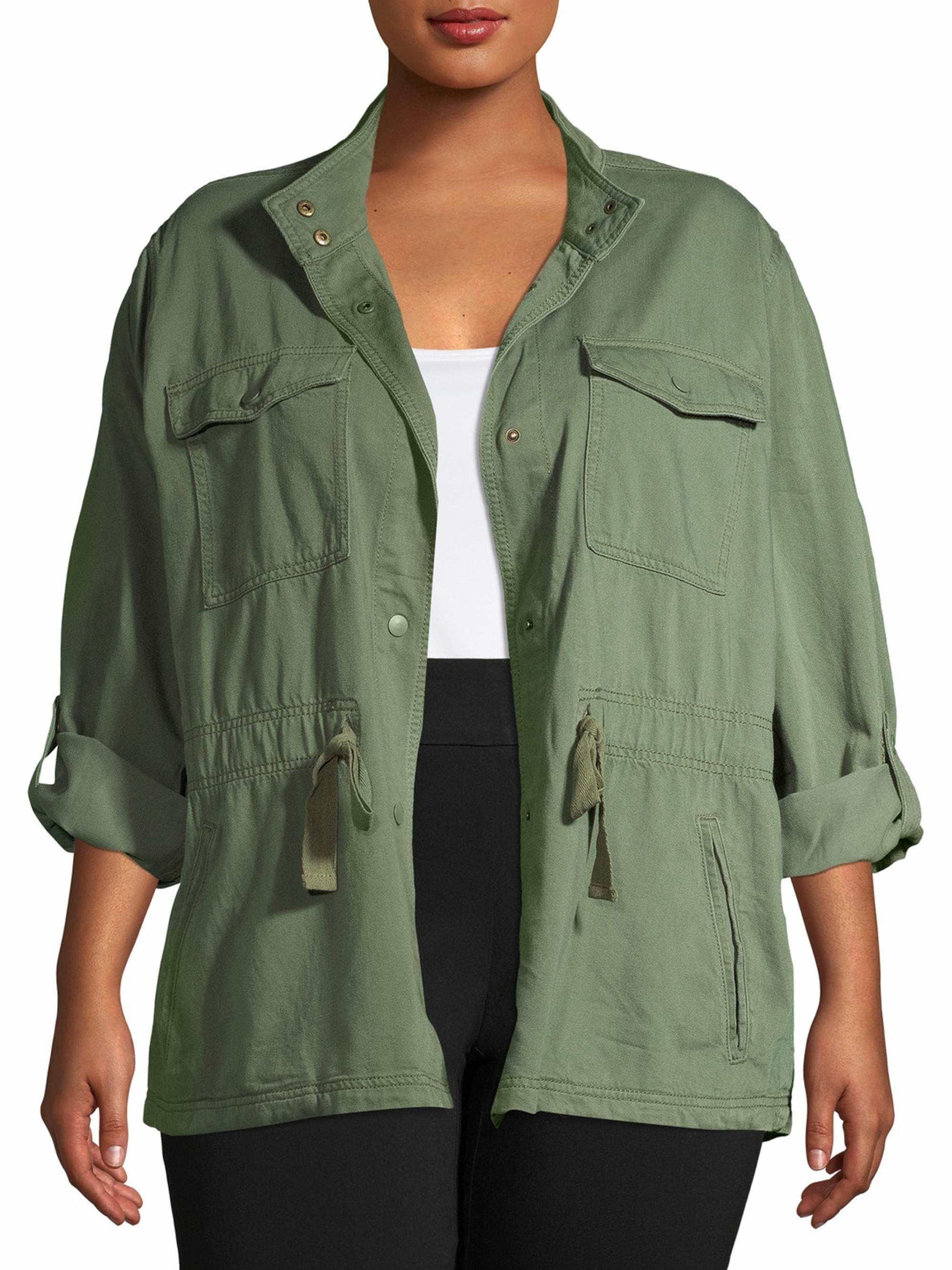 The green utility jacket