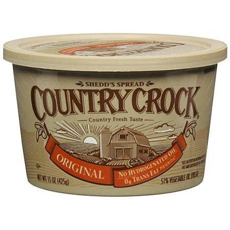 A container of Country Crock margarine