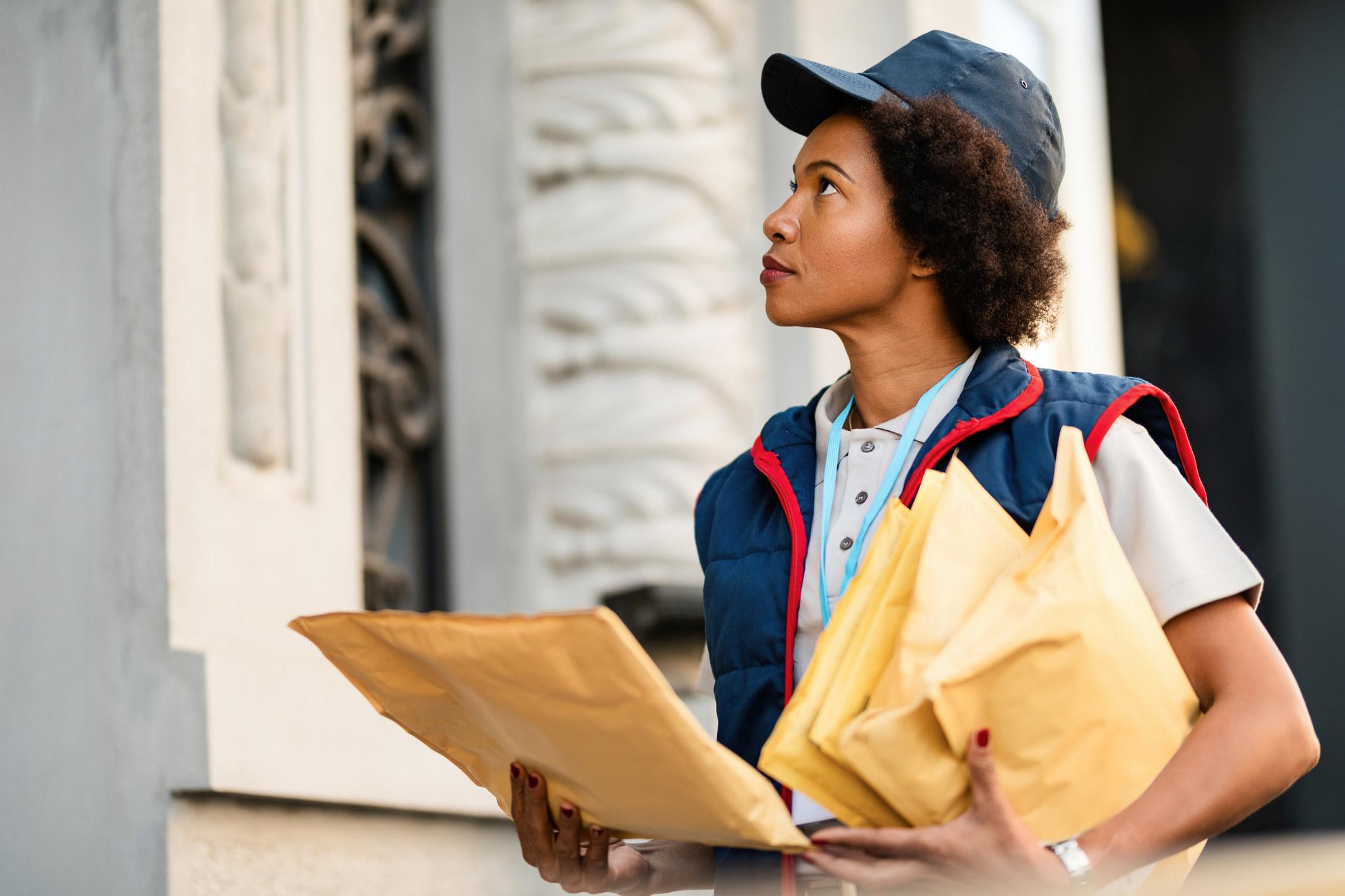 A mail deliverer