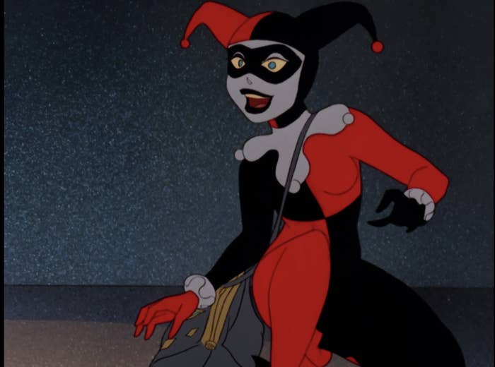 Harley Quinn from the 1992 Batman: The Animated Series