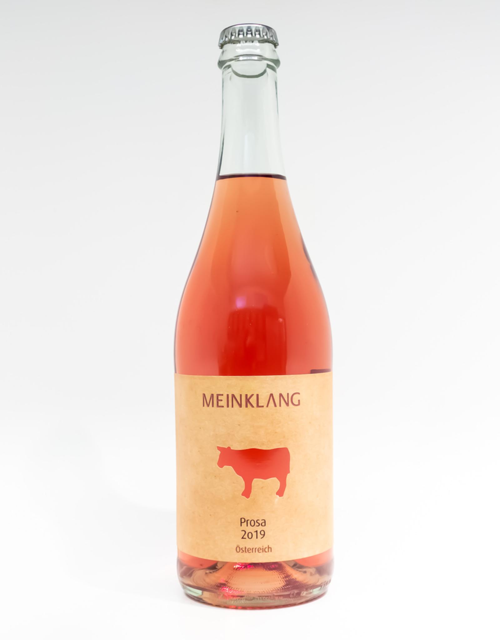A bottle of Meinklang Prosa Rosé 2019.