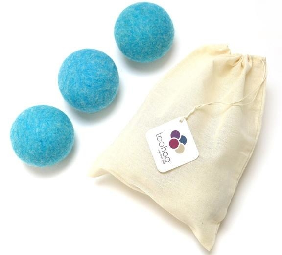 the wool dryer balls