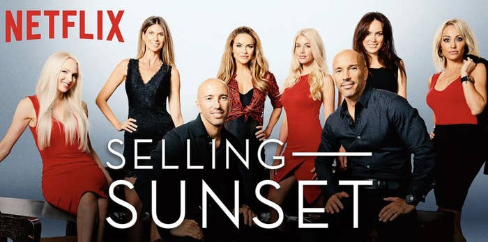 Selling Sunset cast as Netflix's promotional image