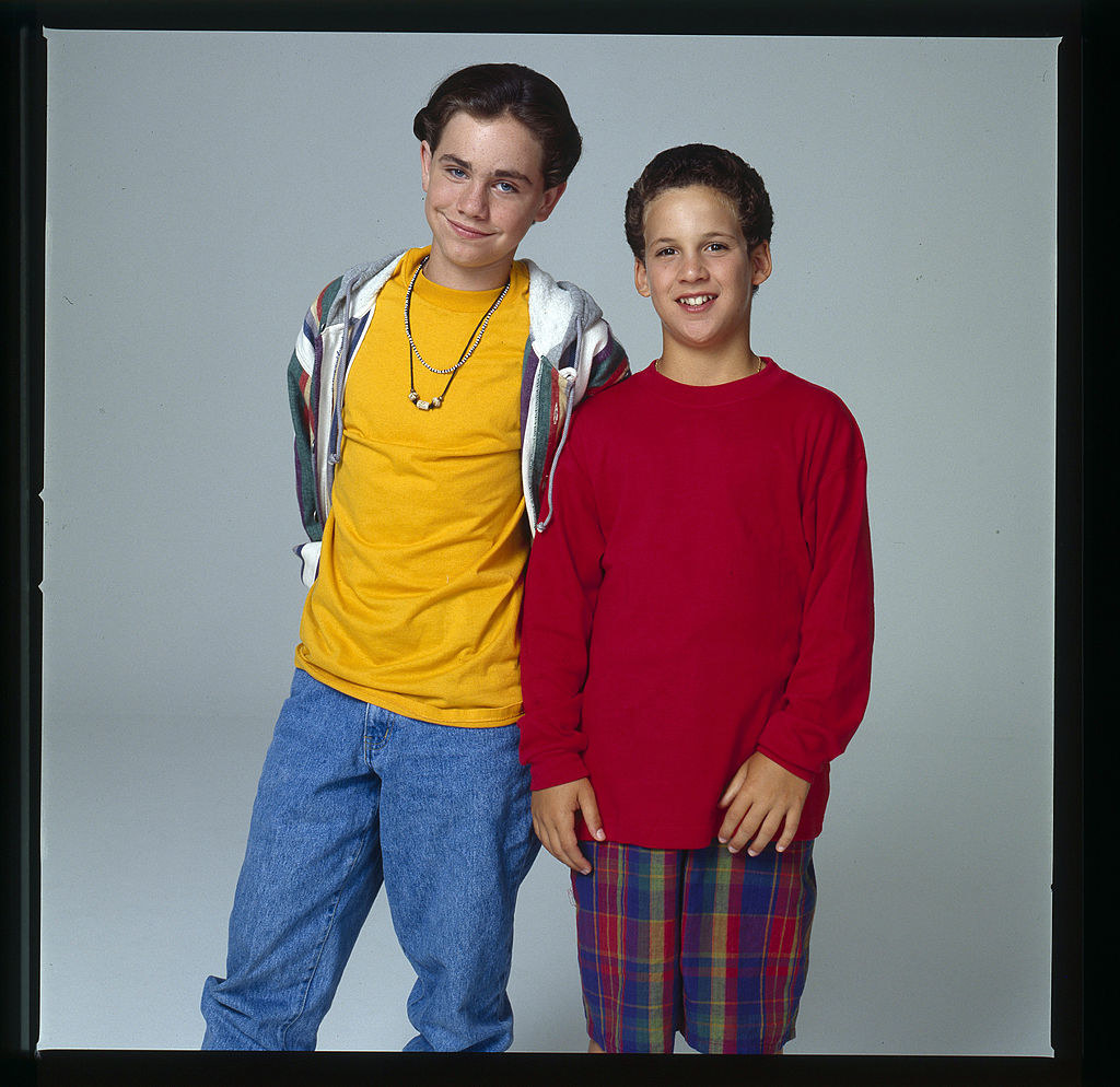 """""""Boy Meets World"""" publicity photo from 1993"""