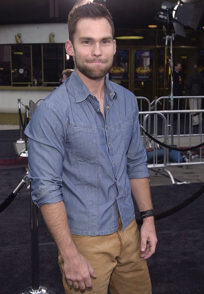 Sean William Scott at a movie premiere in the early '00s