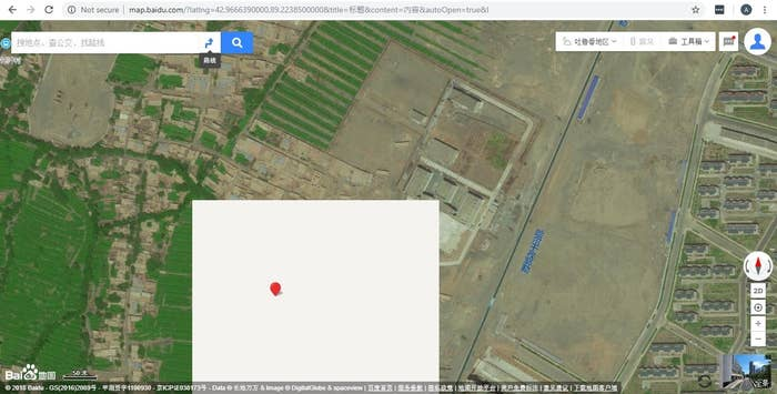 Blanked Out Spots On China's Maps Helped Us Uncover Xinjiang's Camps