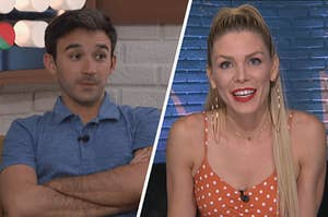 """On the left, Ian from """"Big Brother,"""" and on the right, Dani from """"Big Brother"""""""