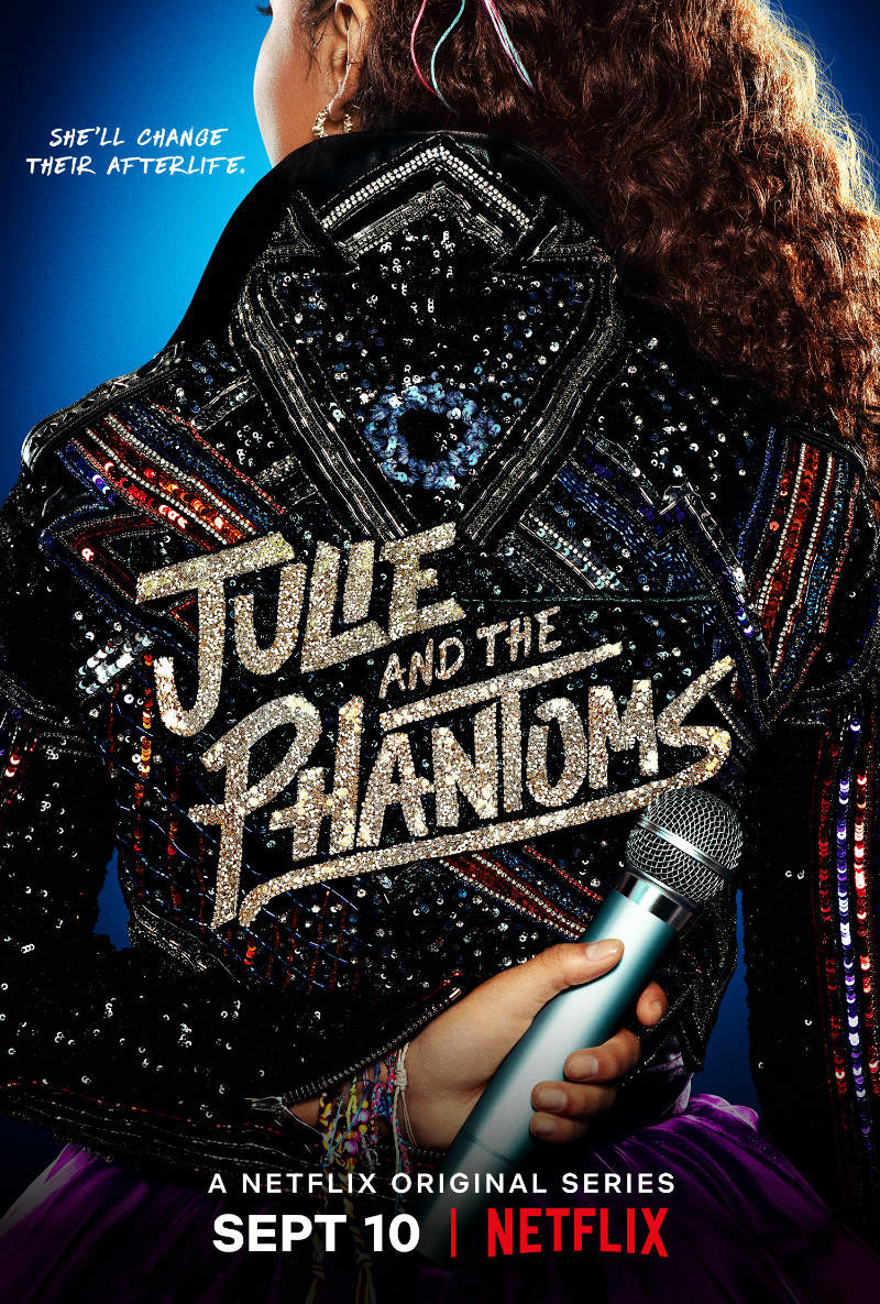 """Promotional poster for """"Julie and The Phantoms."""""""