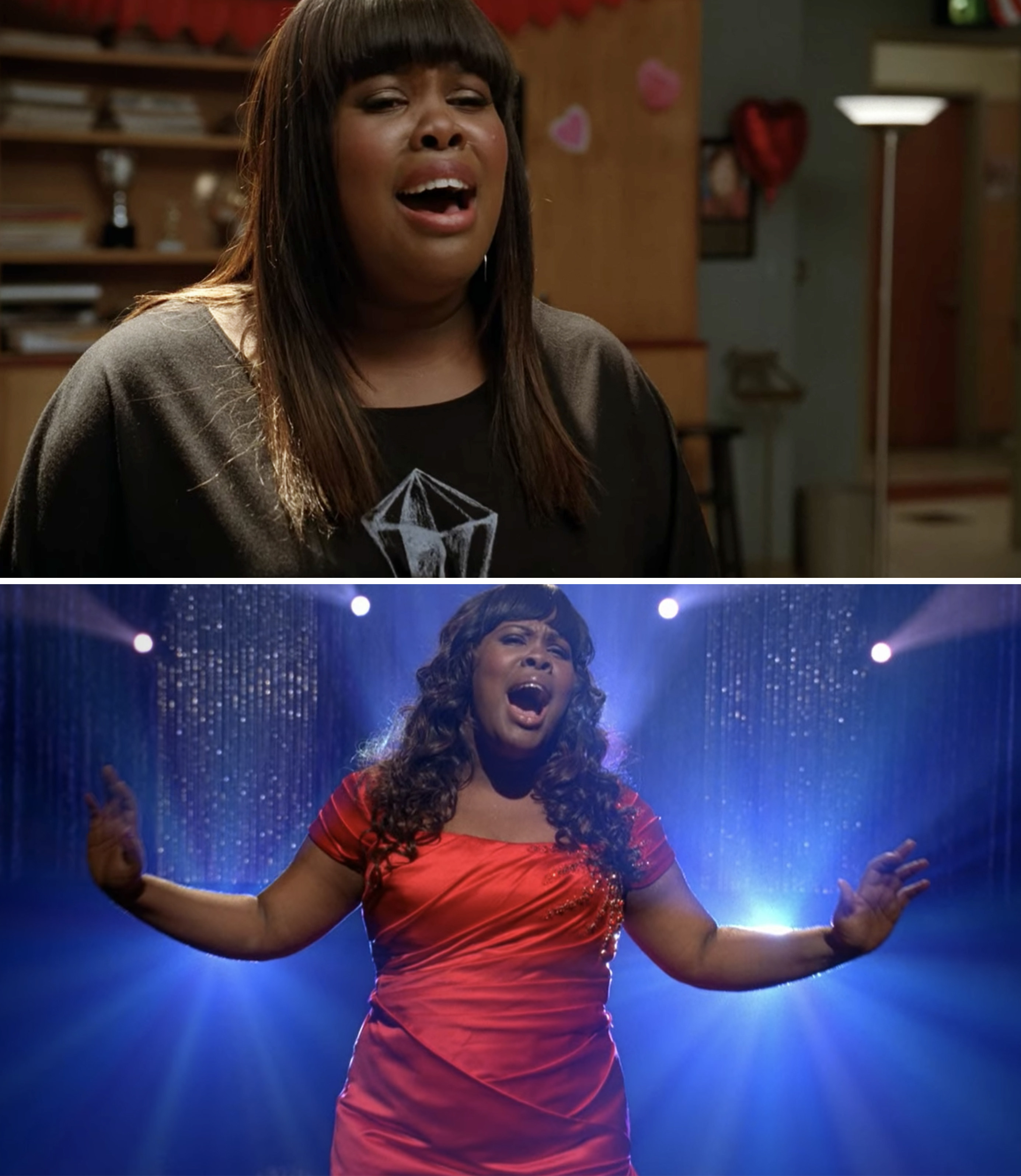 """Mercedes singing """"I Will Always Love You"""""""