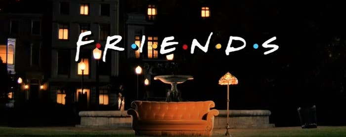 """""""Friends"""" opening theme"""