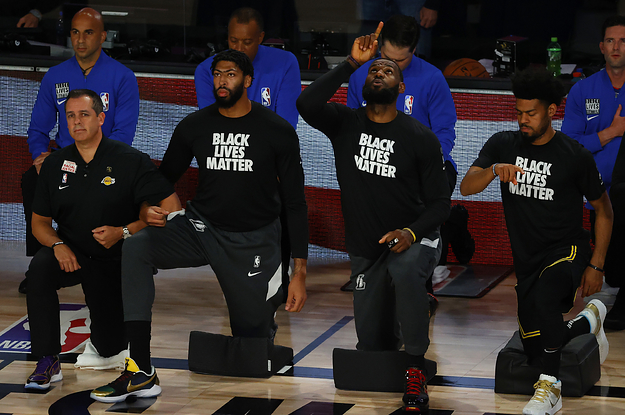 NBA Players Expressed Support For The Milwaukee Bucks Sitting Out Their Game To Protest Jacob Blakes Shooting
