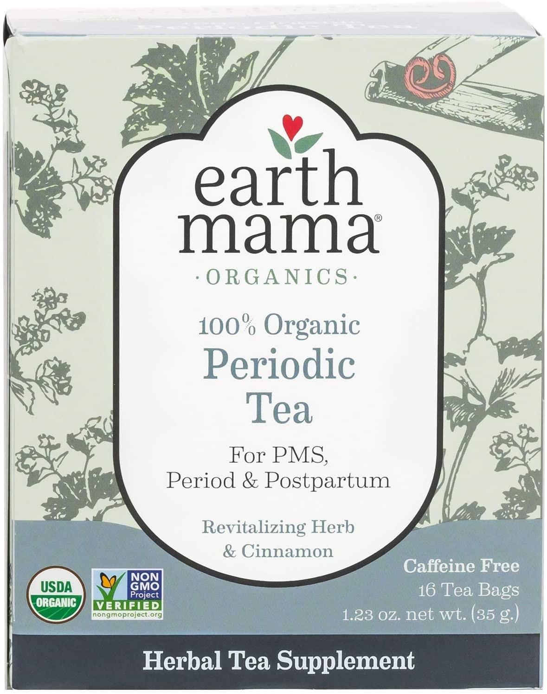 "Box of ""periodic tea"" for PMS, period, and postpartum"