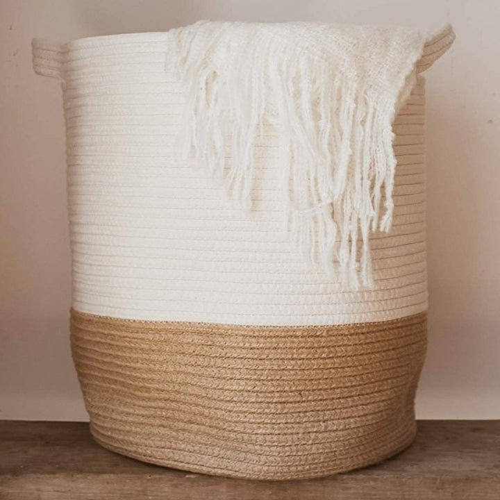 close up of the basket