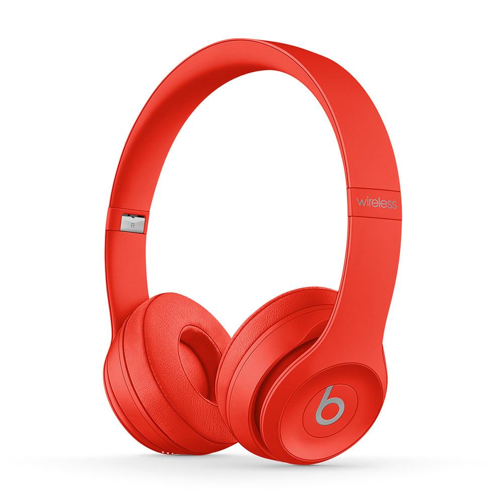 red beats wireless headphones