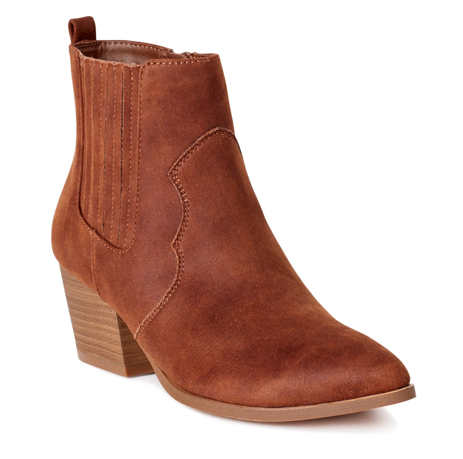 The brown bootie