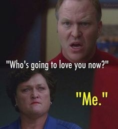 """His husband says """"Who's going to love you now"""" and Beiste says """"Me"""""""