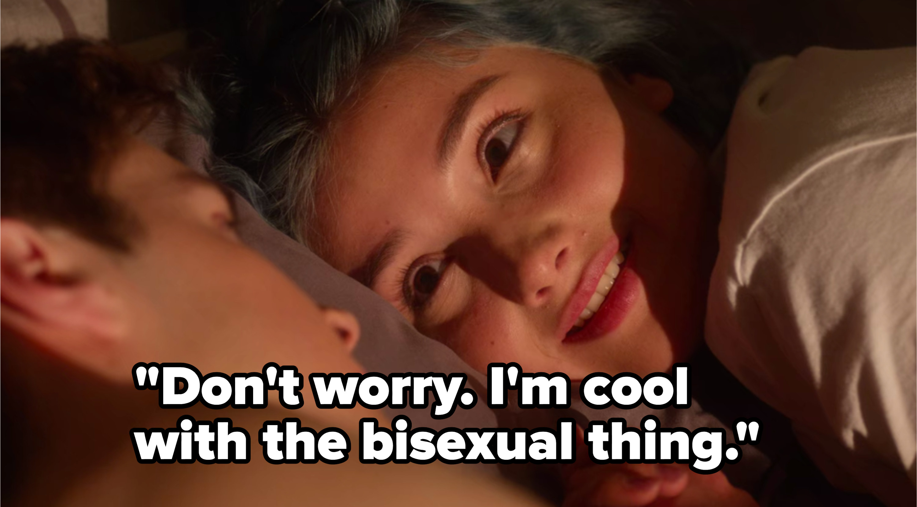 Lola tells Miles she's cool with him being bisexual
