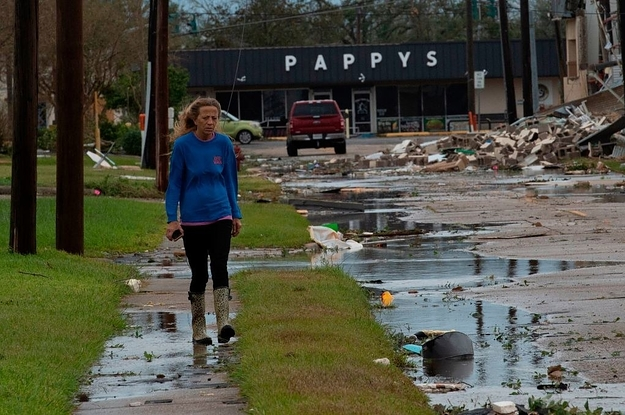Hurricane Laura Hit Louisiana With Extreme Winds And Storm Surge