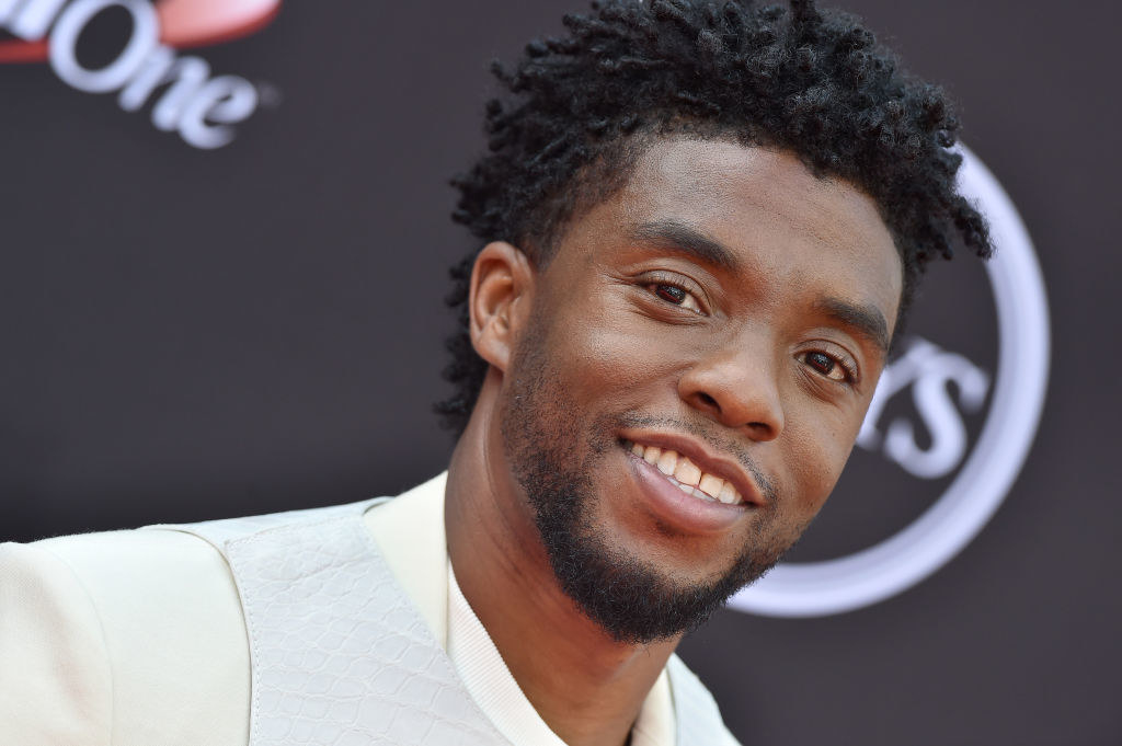 Chadwick at the ESPYs in 2018