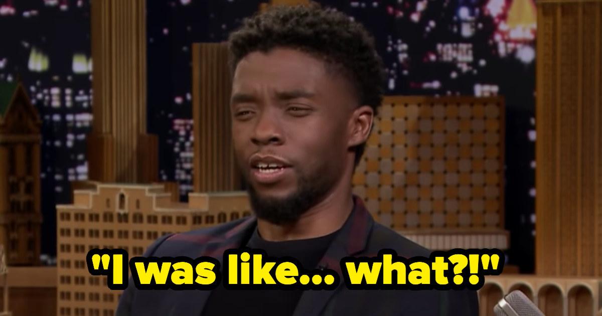 "Chadwick saying, ""I was like... what?!"""