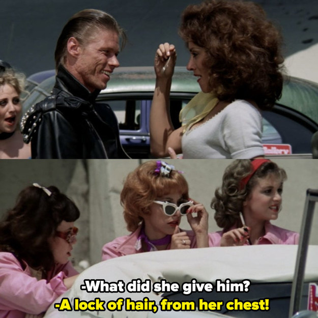 """Marty insulting """"Crater Face"""" and Cha-Cha at the race at Thunder Road with extreme attitude, saying she gave him """"A lock of hair, from her chest!"""""""