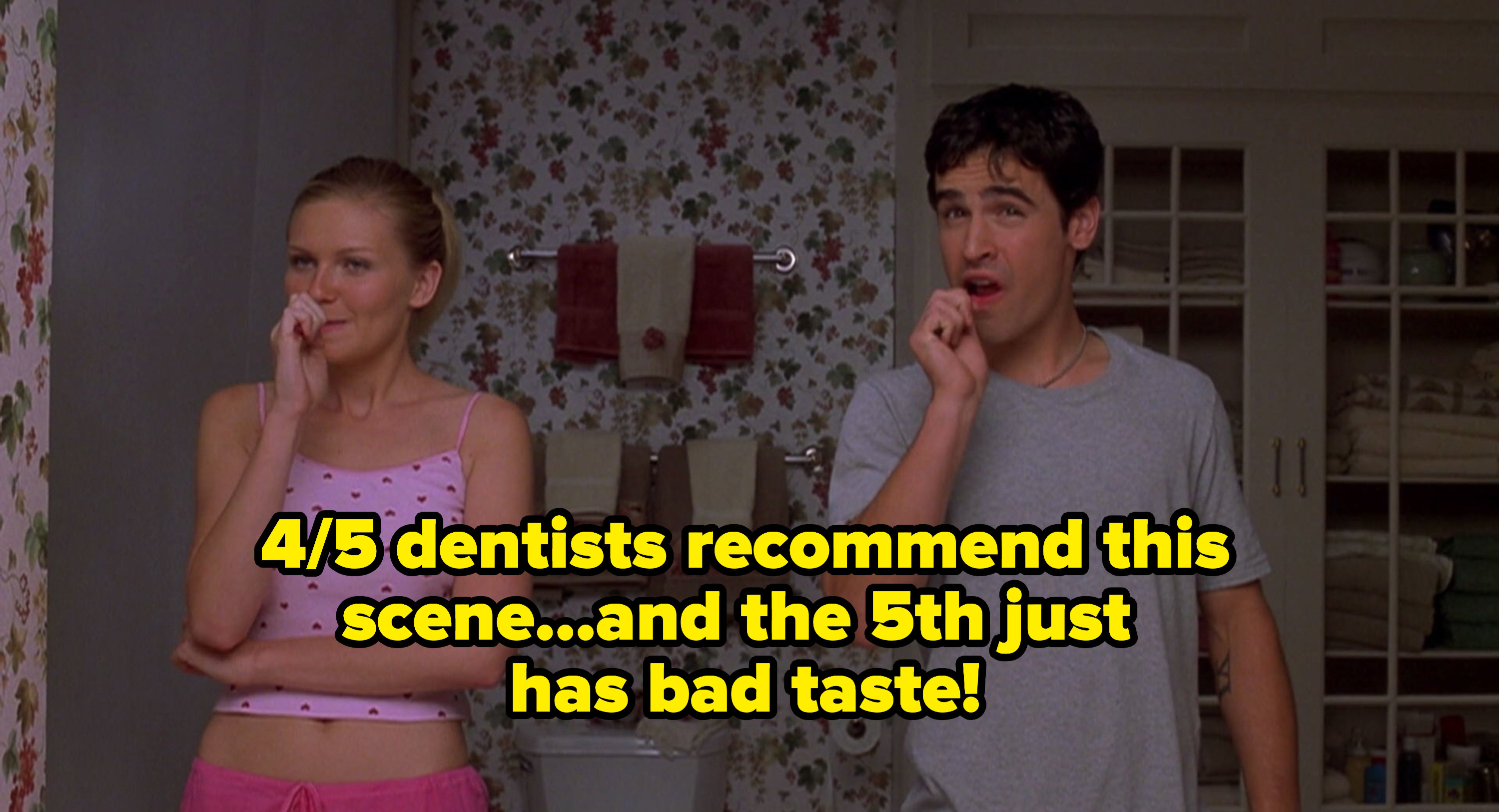 """Author's caption: """"4/5 dentists recommend this scene...and the 5th just has bad taste!"""""""