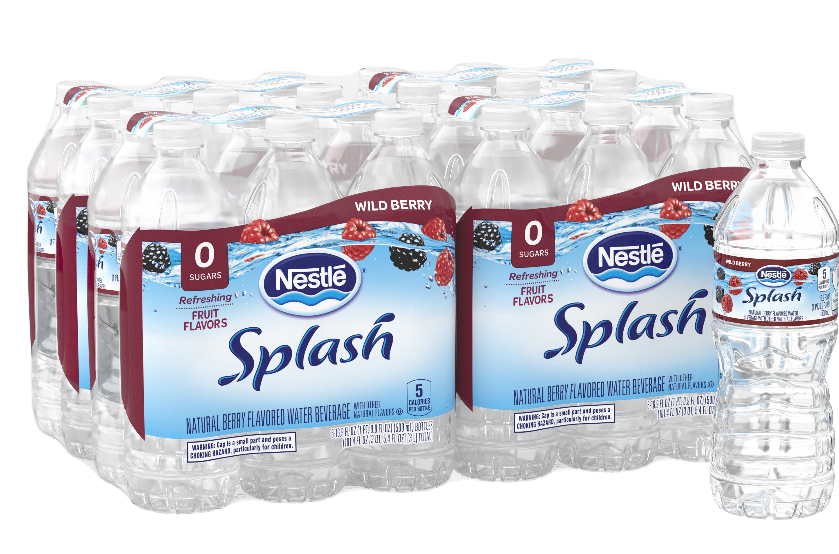 The 24-pack case of water