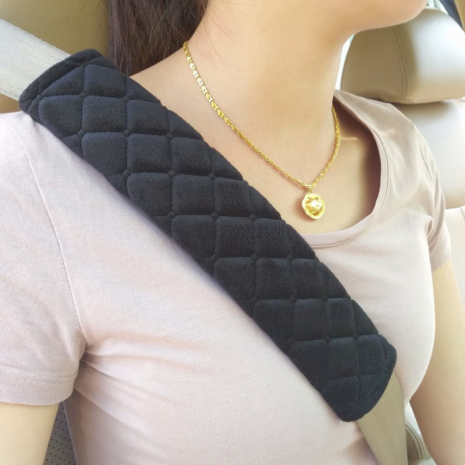 The padded seatbelt cover
