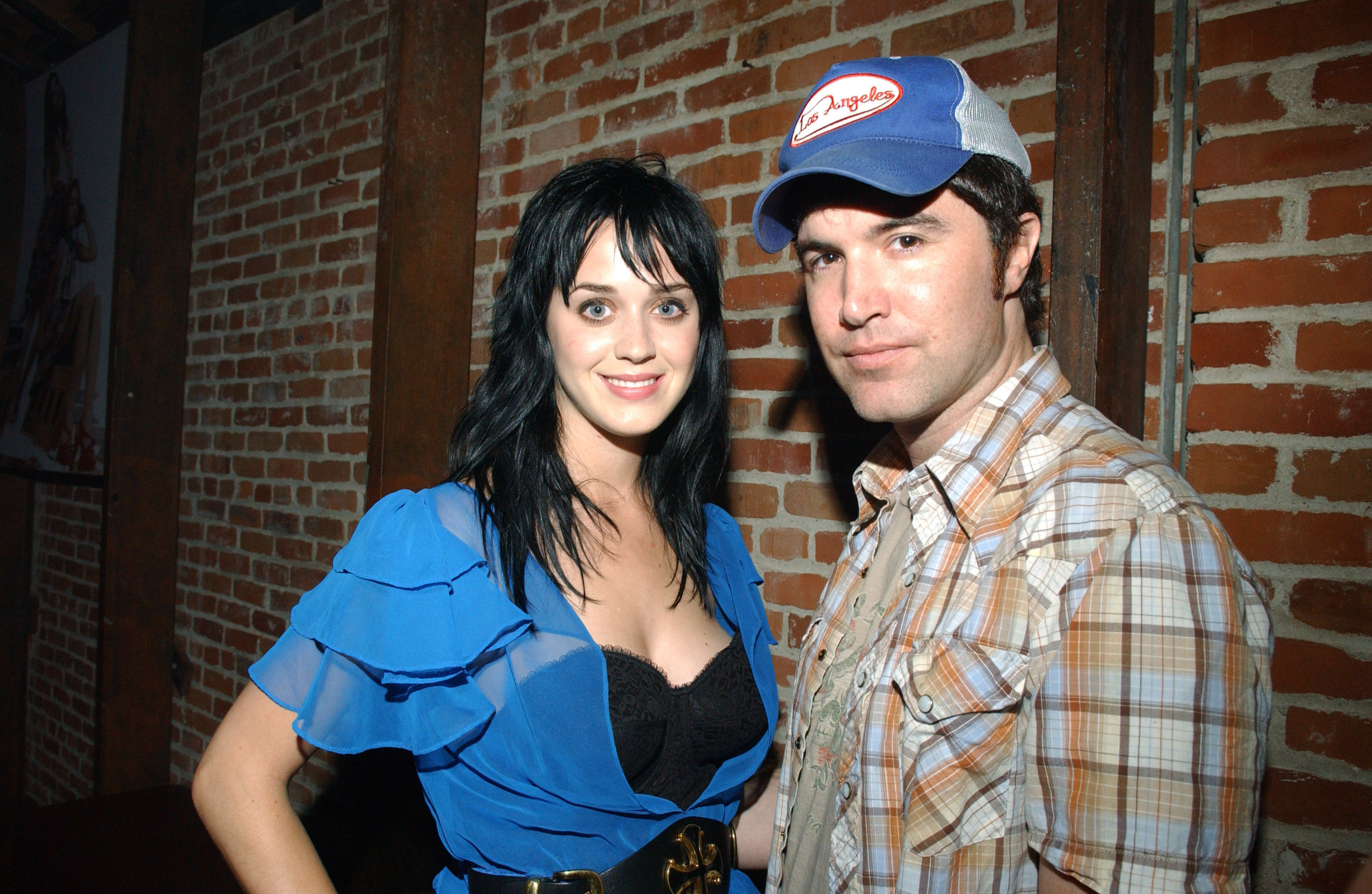Katy Perry and Myspace founder Tom Anderson